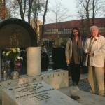 Wszystkich Świętych - grób Chojnackiego