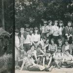Wycieczka do Białowieży 1981 r