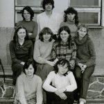 Pod pracownią j. angielskiego 1984 r